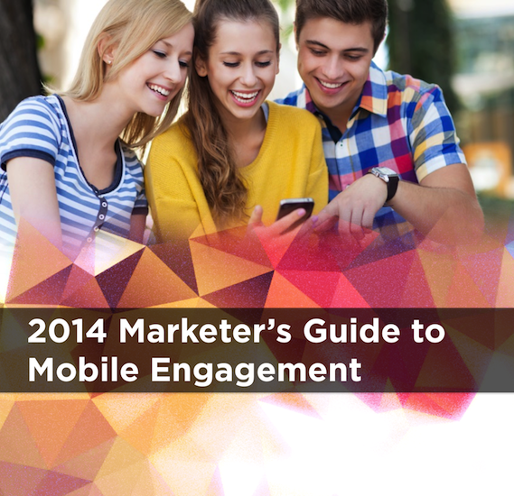 2014 Marketers Guide to Mobile Engagement Banner - Mobile