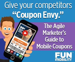 The Agile Marketer's Guide to Mobile Coupons