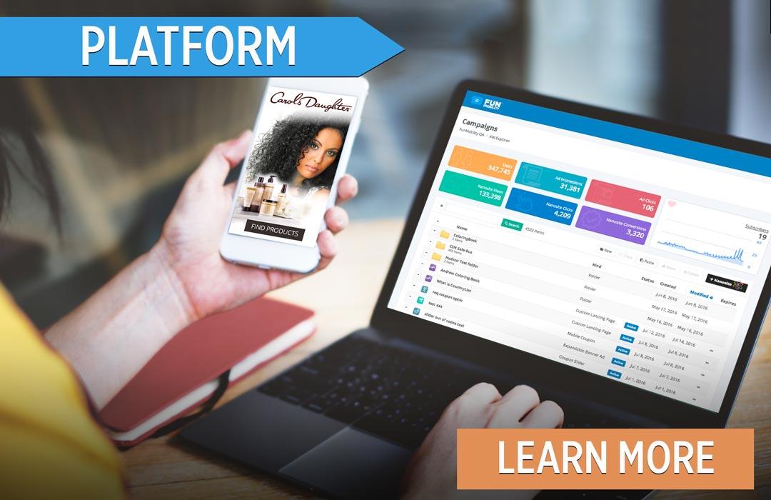 HTML5 Mobile Marketing Content Publishing Martech Integration Platform
