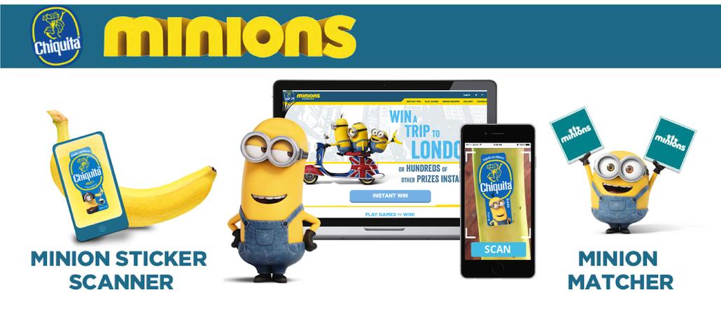 Minions Love Bananas Mobile Engagement Platform
