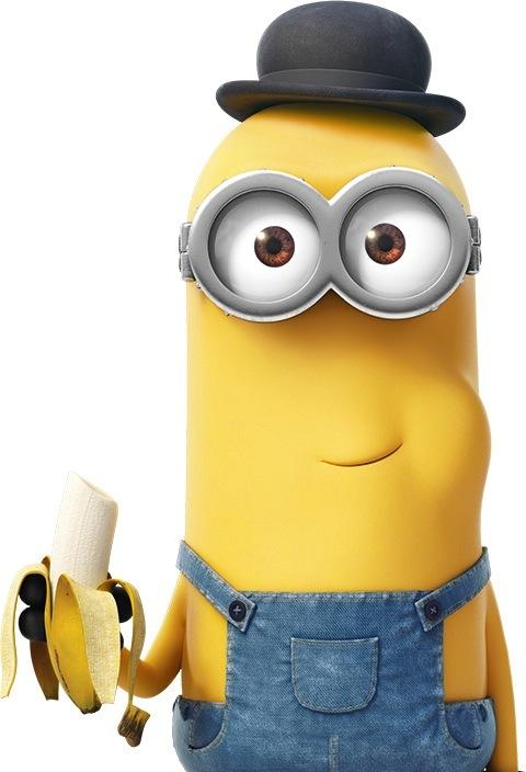 Minion love bananas