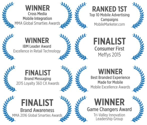 Mobile Marketing Agency Awards and accolades