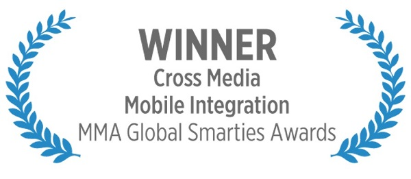 Mobile Marketing Association Global Smarties Awards 2015 Winners Cross Media Integration Chiquita Minions Marketing Solutions for a Mobile First World