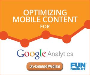 Webinar Optimizing for Google Analytics