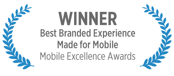 Mobile Marketing Excellence Award Winner