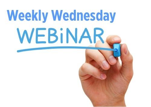 Weekly Wednesday Mobile Marketing Webinars