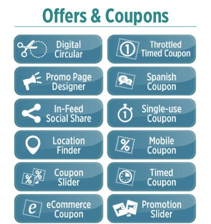Digital Experiences Nanosites offers mobile coupons promotions